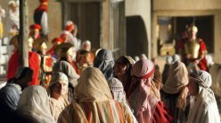 On the set of the Great Passion Play