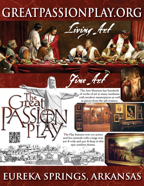 2014 Great Passion Play - Sacred Arts Museum - Fine Art in Eureka Springs
