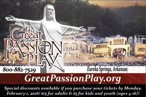 2016 Pre-Season Great Passion Play