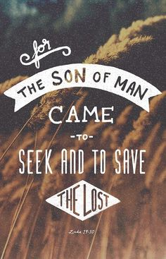 Son of man came to save what was lost - Great Passion Play