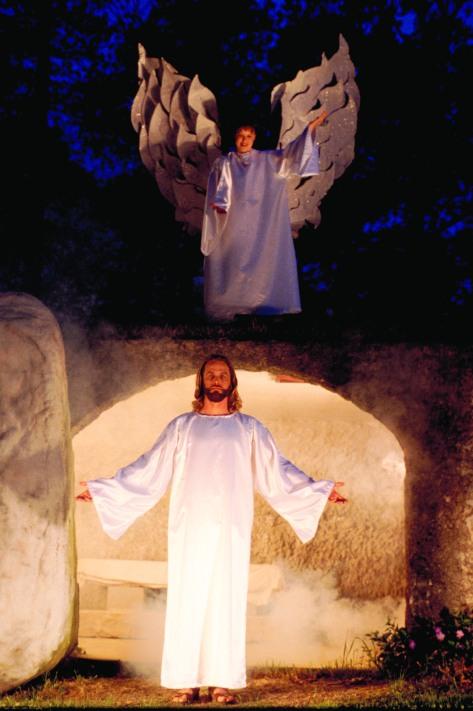 Rick Resurrection with angel